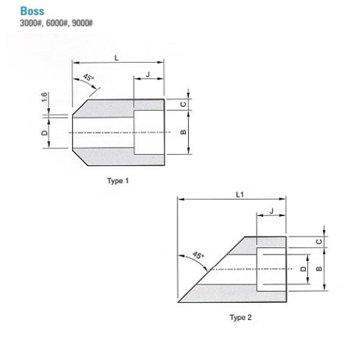 Korea Excellent Steel Stainless Various Types Boss Forged Fittings (ASME B16.11,MSS-SP) | Forged fitting, pipe fitting, connecting pipe, flanges, pipe, connector, steel, stainless