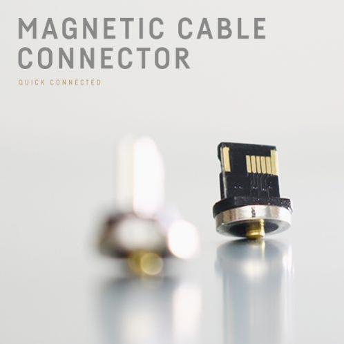 REDOT MOBILE Magnetic cable connector | cable connector,iphone, android,USB Port,  magnetic cable