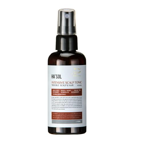 Intensive Scalp Tonic | scalp tonic, HASOl, preventing hair damage, tonic, hair loss, skincare