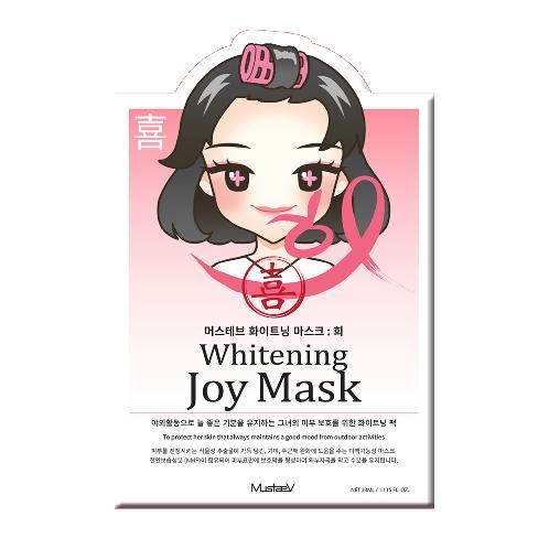 Whitening Joy Mask | mask, mood therapy,  korea, korea brand, cosmetics,Whitening