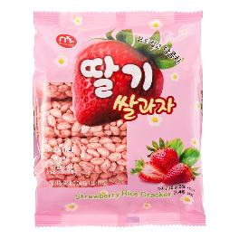 Strawberry Rice Cracker
