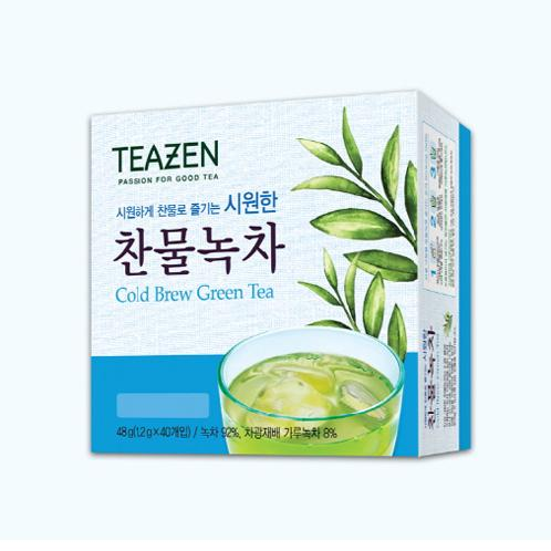 Teazen Cold Brew Green Tea | Cold beverage for Summer, Green tea's dense concentration & rich flavors,  Brewing type of green tea