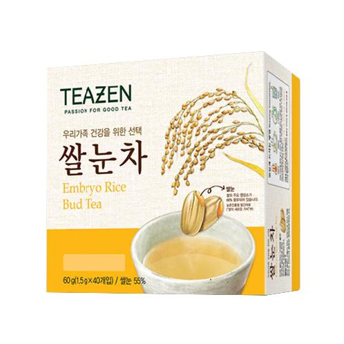 Teazen Embryo Rice Bud Tea | More aromatic flavor, Easy & Simple to drink,  Light refreshment after meal, Tea, Embryo bud of rice