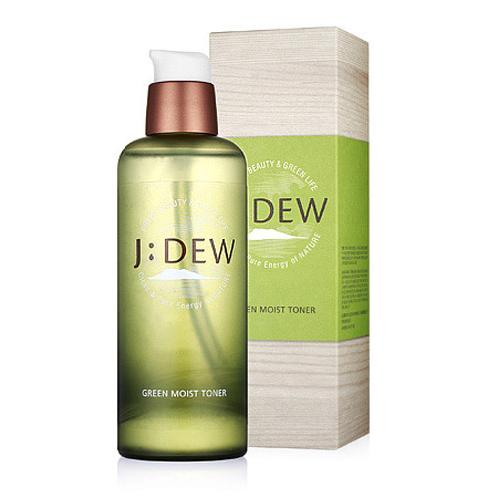 J:DEW Green Moist Toner | non-mineral oil, non-artificial fragrances, Toner