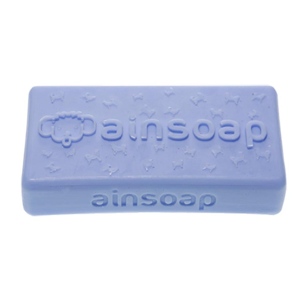 [AINSOAP] Vegan Organic Dog Soap / Bar Shampoo 90g, Peppermint, Relieves Eczema for Sensitive