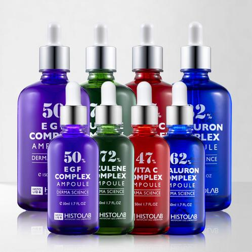 4 Complex Ampoule Series | Skin care, ample, essence, whitening, wrinkle improvement, hydration, soothing, cosmetics, facial