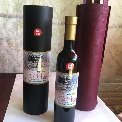 SANGOEUL Raw Schisandra(Omija) Liquid | Schisandra(Omija) , Raw Schisandra(Omija) , Organic , Health Food , Raw Liquid , Undiluted Liquid ,