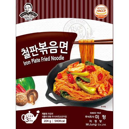 Iron Plate Fried Noodle | Rice noodle , Gluten-Free , Trans fat-Free , Non GMO , No-cholesterol