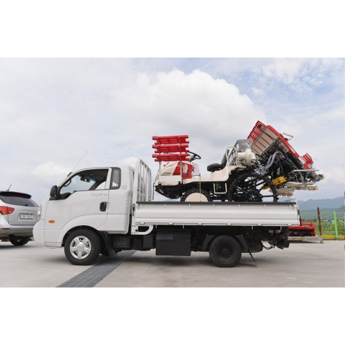 Multi-purpose 1-ton vehicle | Super long axle, King cap, Car carrier, 1 ton, Sliding, Winch, Cargo truck
