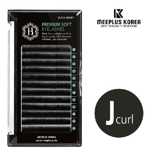 MEEPLUS KOREA Black Berry Flat Lash J Curl | MEEPLUS, false eyelash, eyelash extension, Natural eyelash