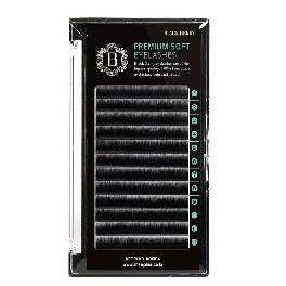 MEEPLUS KOREA Black Berry Flat Lash JC Curl