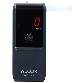 ALCO9 TX8000(AL8000) Fuel Cell Breathalyzer Portable Breath Alcohol Tester Detector