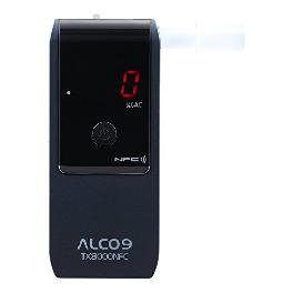 ALCO9 TX8000NFC Fuel Cell Breathalyzer Portable Breath Alcohol Tester Detector