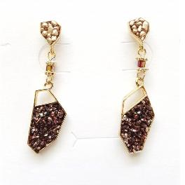 Stone powder Earrings