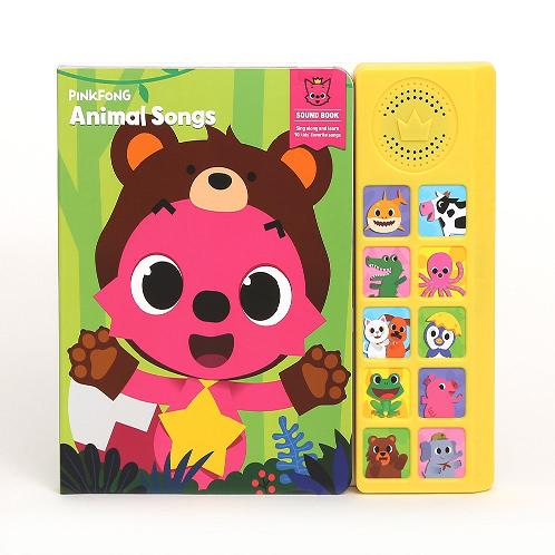 Pinkfong Children9s Animal Songs Sound Book | Pinkfong,Soundbook , Children's songs , Animal songs , Children's books
