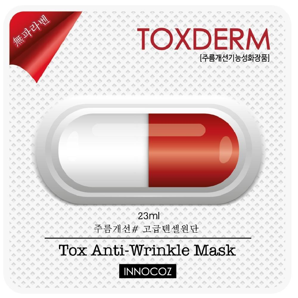 GRID SOLUTION TOXDERM TOX Anti-Wrinkle MASK, 23 ml 10 ea