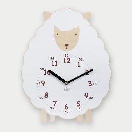Sweet Lamb non-ticking Silent Wall Clock