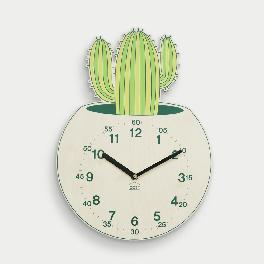 Mytillo Cactus non-ticking Silent Wall Clock