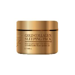 aromame mochere gold collagen sleeping pack