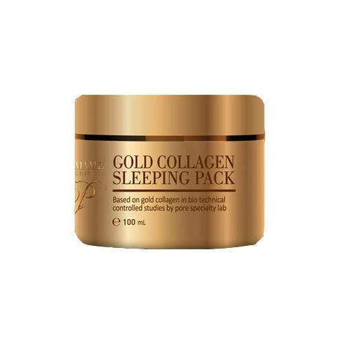 aromame mochere gold collagen sleeping pack | Nutrition, elasticity, Whitening