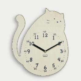 Darling Kitten non-ticking Silent Wall Clock