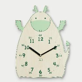 Hopeful Dragon non-ticking Silent Wall Clock