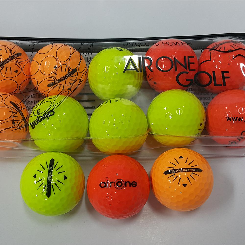 1880 COLOR GOLF BALL