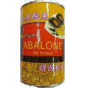 Canned abalone, in sauce