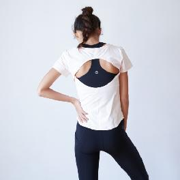 Backless Short Sleeve T-shirts