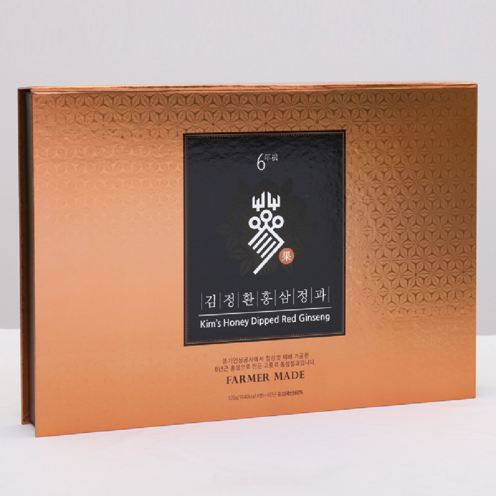 Kim's Honey Dipped Red Ginseng