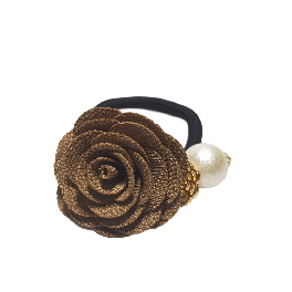 Fleuri Pony_Rose Hair Tie
