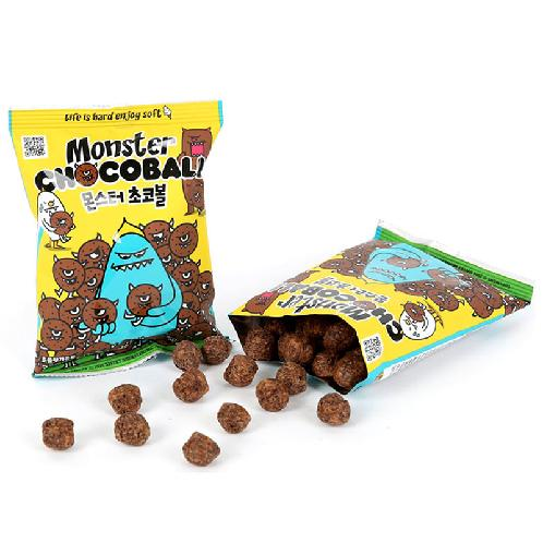Sweet Monster Chocoball | Moist and soft new texture, Easy to carry, Delicious snacks for all men and women, young and old