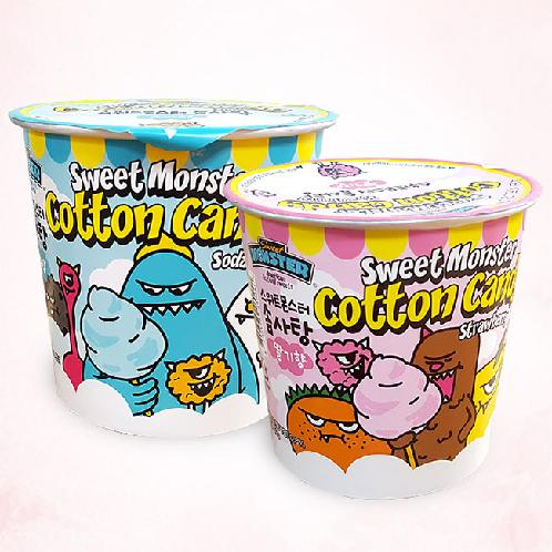 Sweet Monster Cotton Candy | Two flavors (Soda & Strawberry), Cotton candy for kids, Enjoyable by entire family