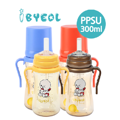ibyeol ppsu straw cup 300ml | PPSU straw cup,ppsu,anti apill,Compatible with bottle
