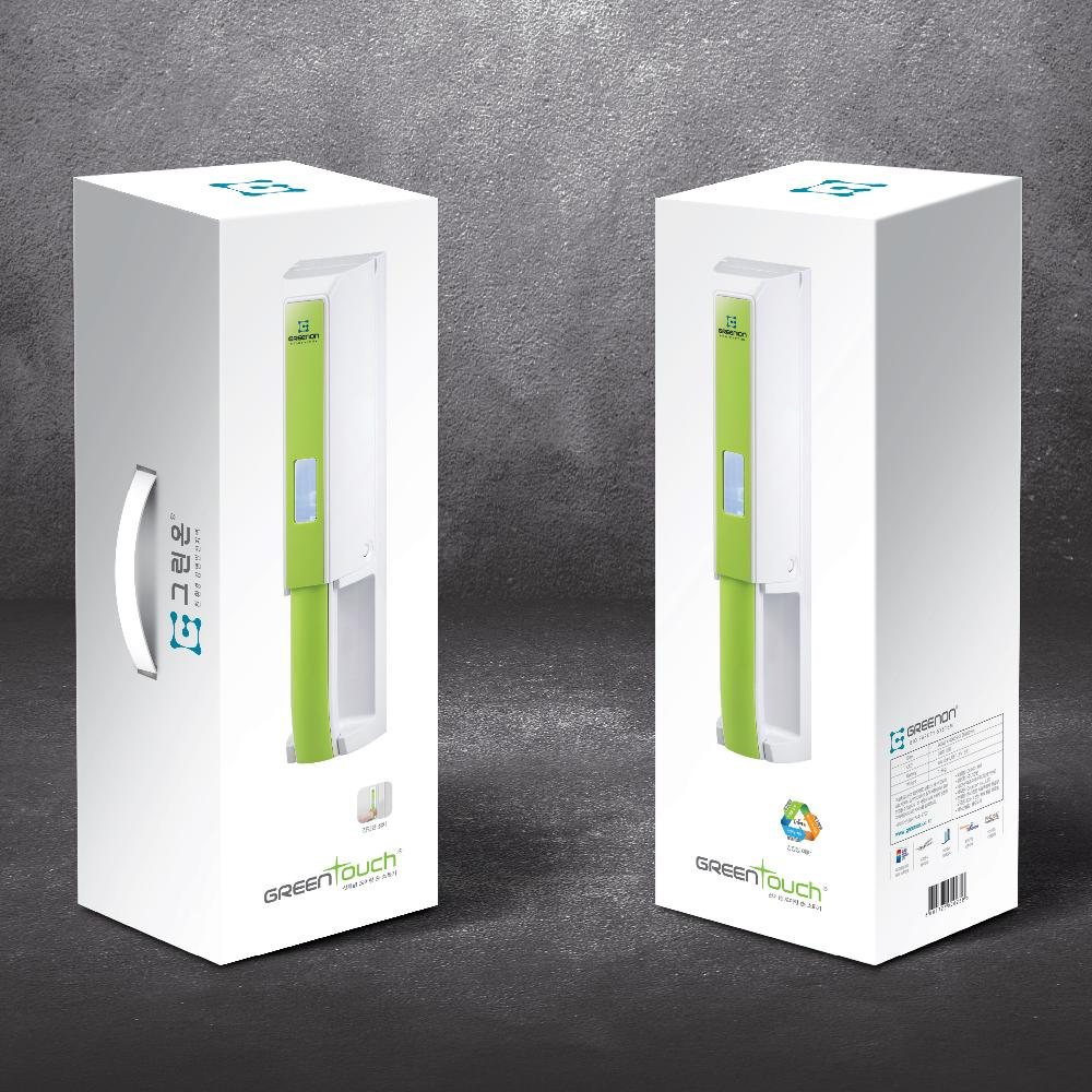 Green Touch Door hand hygiene control system