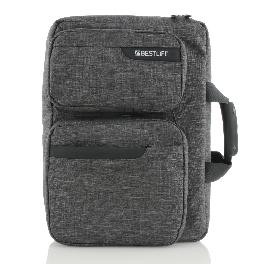 Bestlife BBC-3251G 2in1 shoulder bag, Backpack gray
