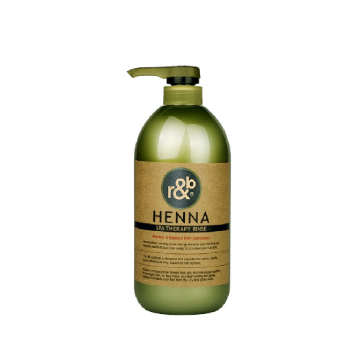 r&b henna spa therapy rinse | hair caore rinse,cuticle coating,helps recover ph balance