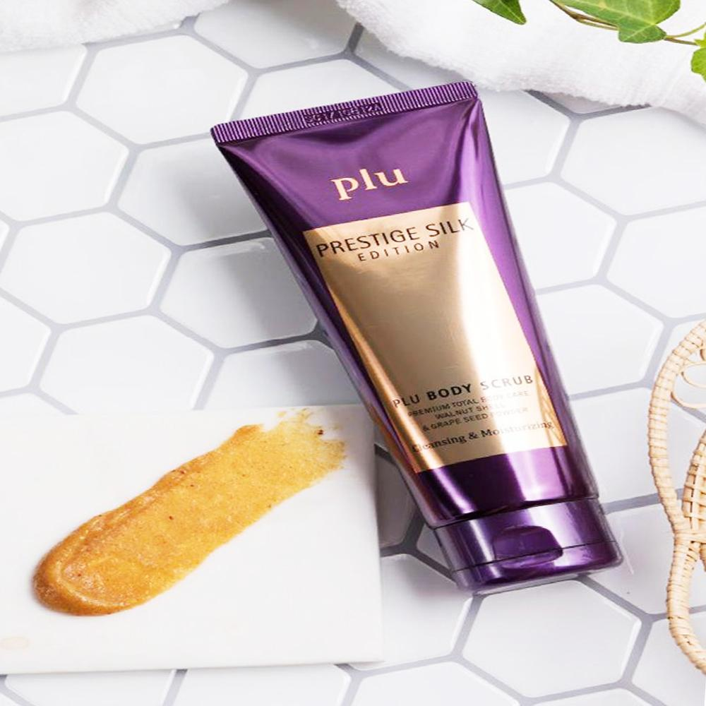 Plu Body Scrub Prestige Silk Edition Exfoliating & Moisturizing