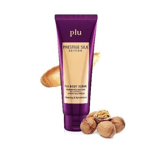Plu Body Scrub Prestige Silk Edition Exfoliating & Moisturizing | 2017 Korea Hot Item Plu Body Scrub Prestige Silk Edition Exfoliating & Moisturizing