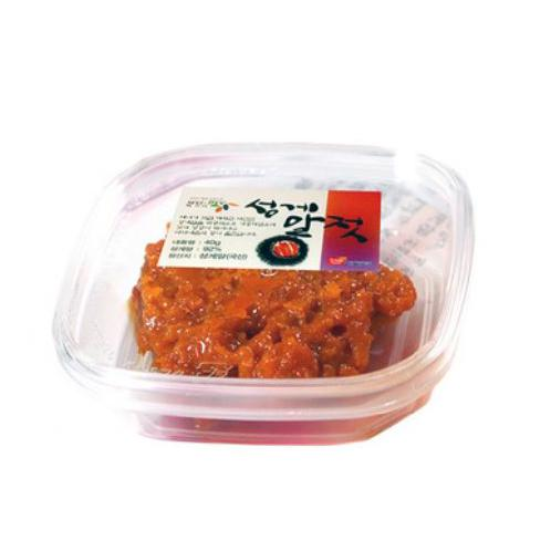 Made in Korea sea food _Salted Sea Urchin | Made in Korea sea food _Salted Sea Urchin