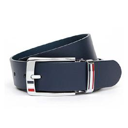 [KRSPORTS] finest cowhide from italy belt (Navy)