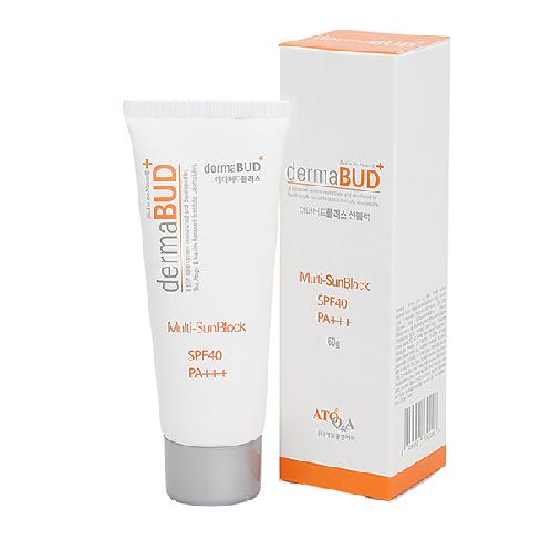 dermaBUD Plus Multi-Sun Block | Sun Block, Sun cream, SPF40 PA+++, Perfect UV protection, No-stickiness, Can be used by everyone