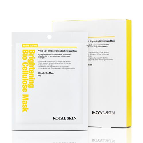 ROYAL SKIN PRIME EDITION Brightening Bio Cellulose Mask | moisture,  essence ,  Brilliant energy, mask pack