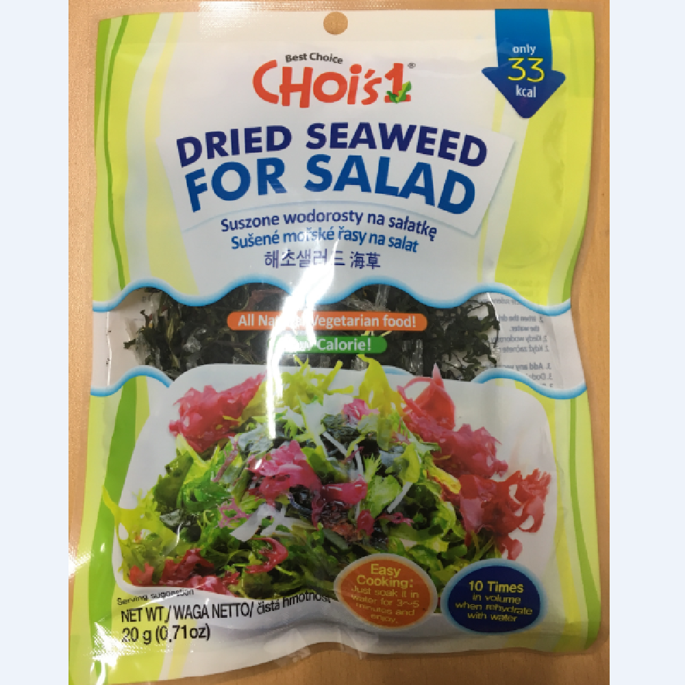 Choi's Dried Seaweed for Salad