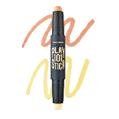 101 Stick Color Contoure Duo(Peach Orange+Yellow)