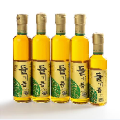 Perilla Oil Set 300ml x 4ea, 180ml x 1ea 100% whole perilla Korea