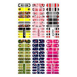 Mango10 Adhesive Nail Polish by PUCCA Stickers Art Design