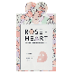 I'M IN LOVE Roseheart daily brightening pink mask | sheet mask,Roseheart,2step mask