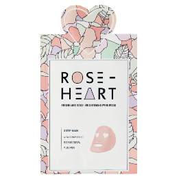 I'M IN LOVE Roseheart daily brightening pink mask