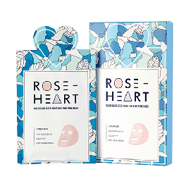 I'M IN LOVE Roseheart deep moisturizing pink mask